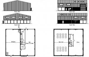 Commercial Projects - Proposed Floor Plans
