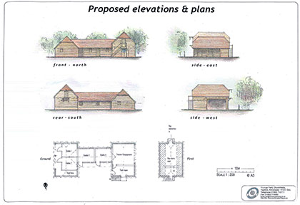 Stable drawing plan
