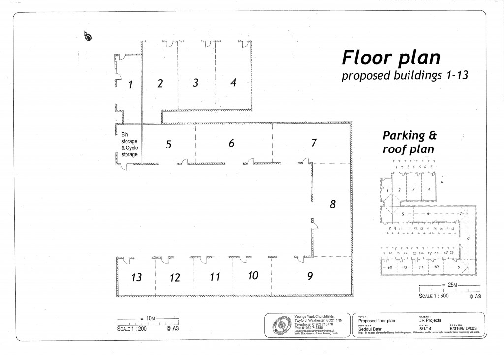 JR Floor plan